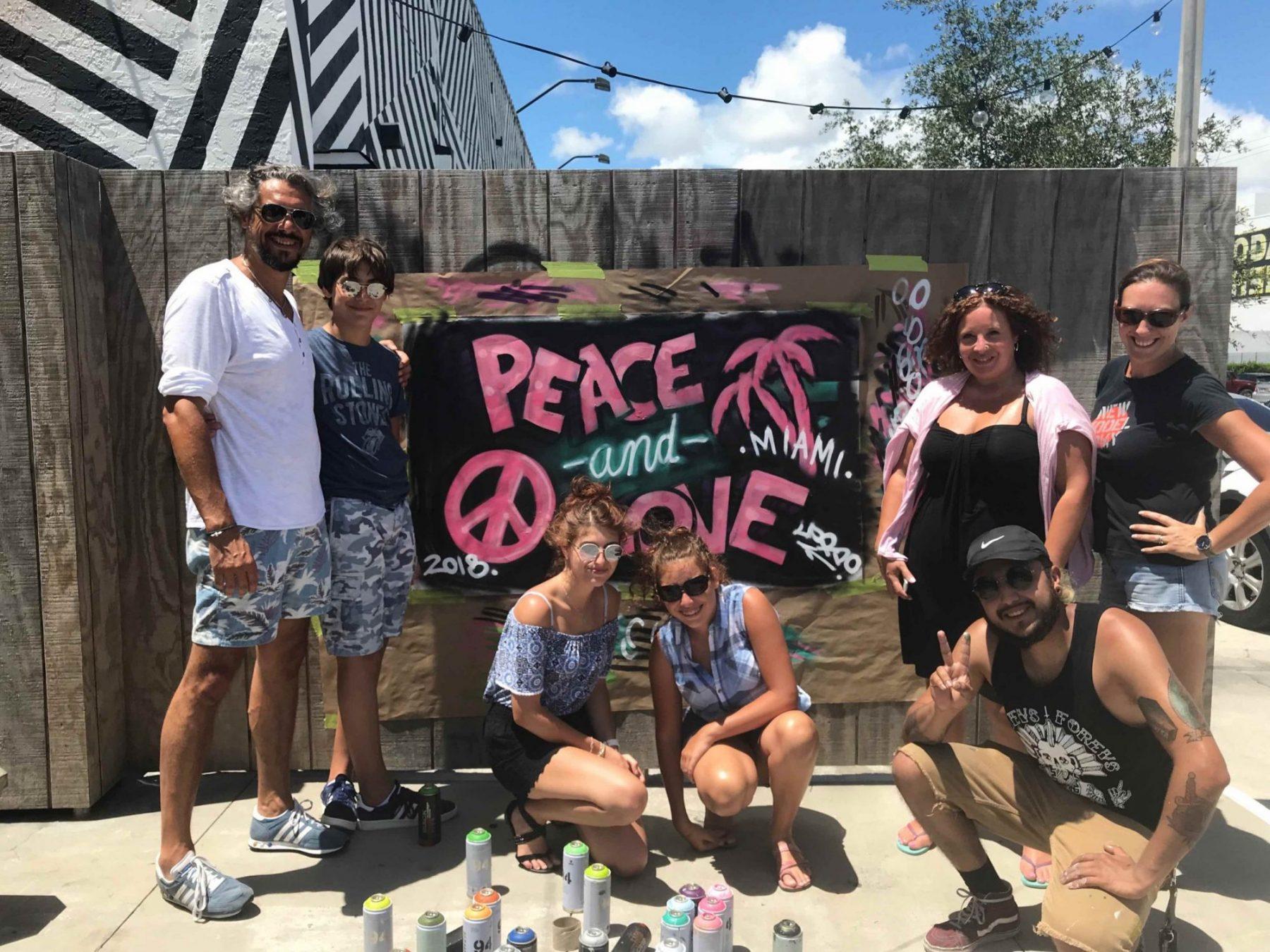 visiter miami en famille atelier street art a Wynwood que faire a miami avec des enfants miami off road