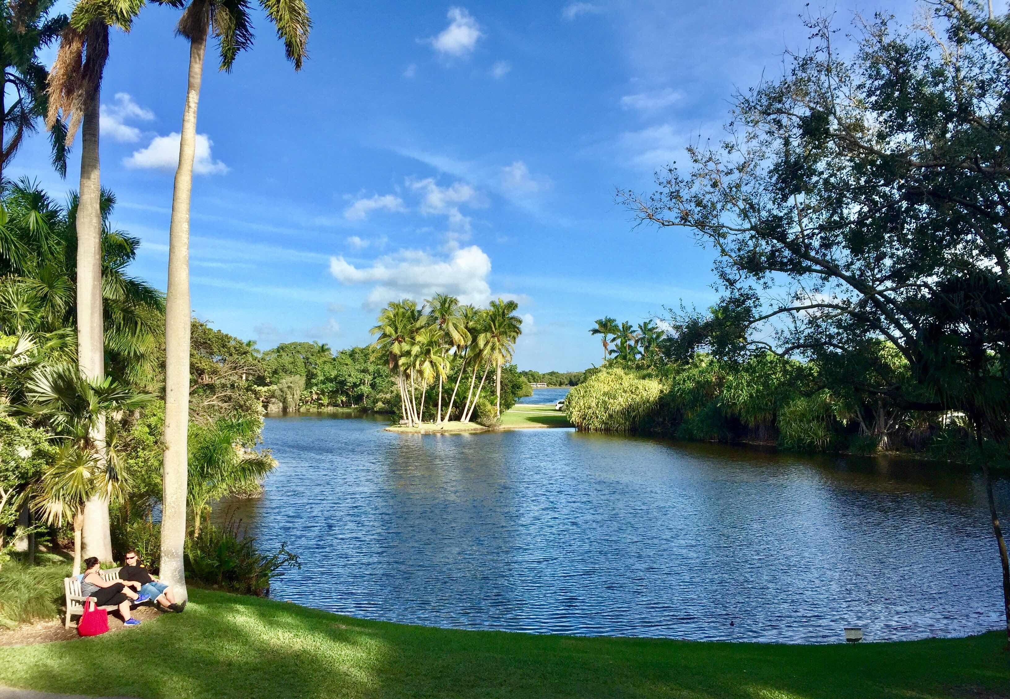 fairchild tropical botanical garden jardin botanique coral gables incontournables à miami que faire à miami jardin tropical serre aux papillons blog miami off road