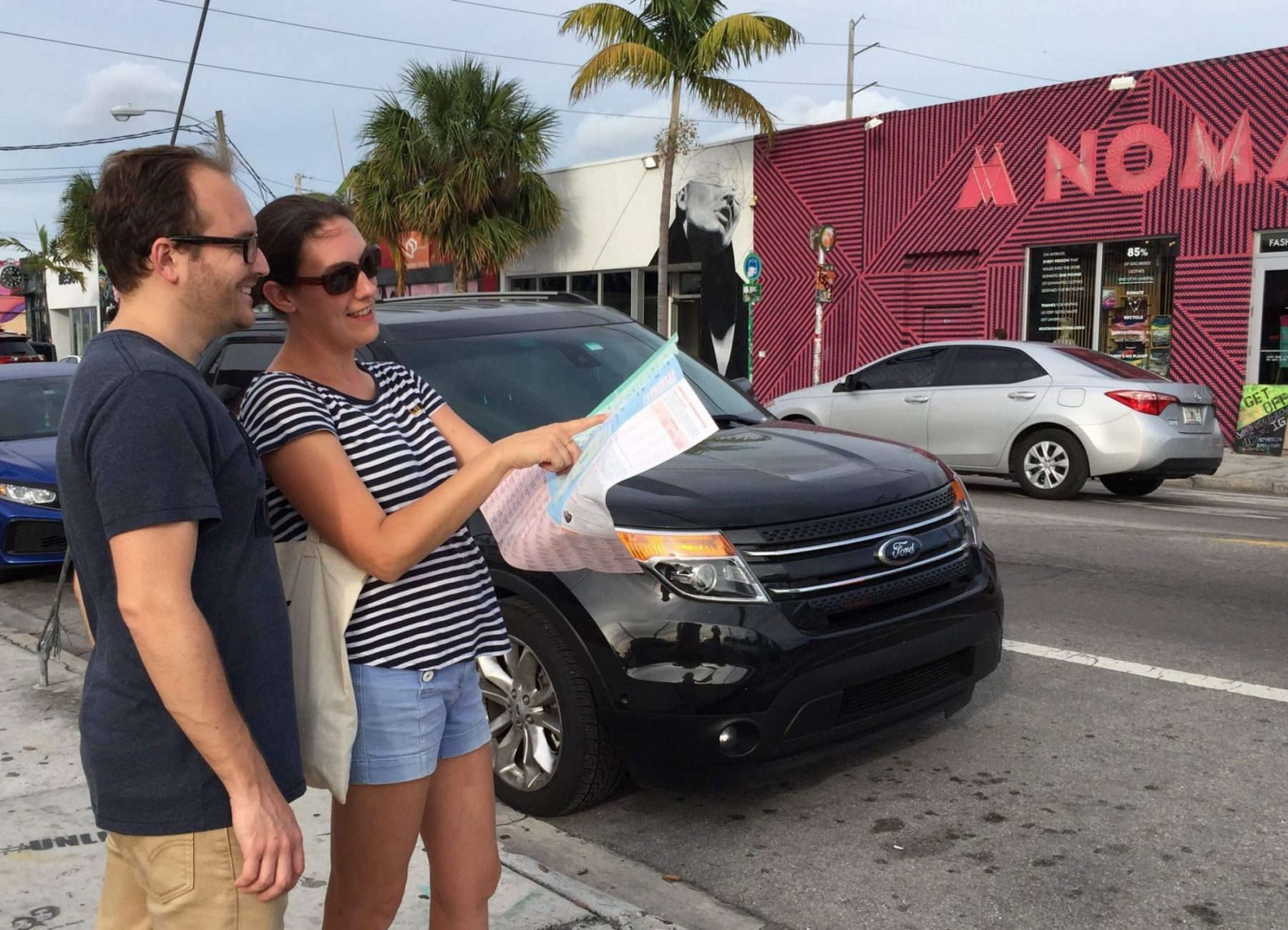 accompagnement à la préparation de séjour welcome to Miami wynwood carte guide visite guidée informations touristiques aide à l'arrivée à Miami blog miami off road