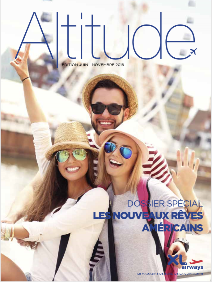 Le magazine Altitude de la compagnie XL Airways