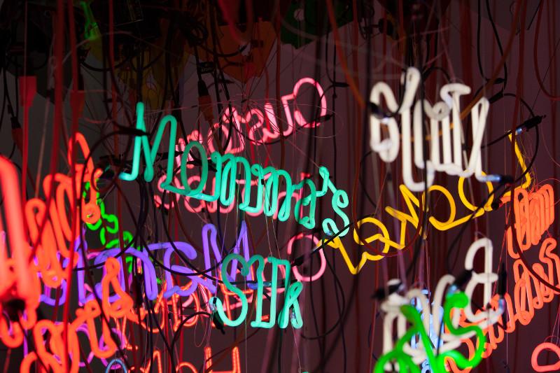 tous les mois rubell family collection art walk lynwood neon blog miami off road