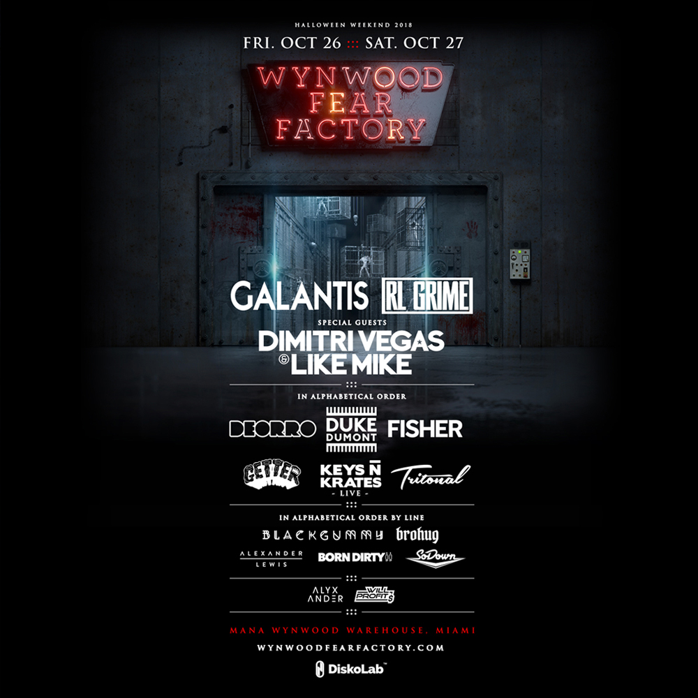 halloween wynwood fear factory que faire pour halloween a miami ou fêter halloween a miami octobre miami off road