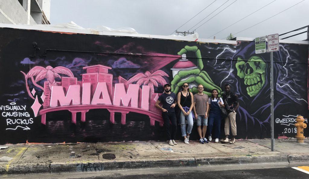 Miami - Weerdo - atelier street art a Wynwood - miamioffroad