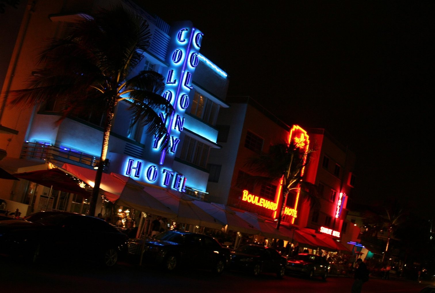 south beach que faire a south beach miami beach ocean drive néons art deco nuit blog miami off road