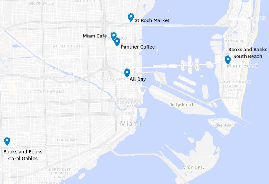 café bonnes adresses coffee break les bonnes adresses de café a Miami ou boire un bon café a Miami blog miami off road