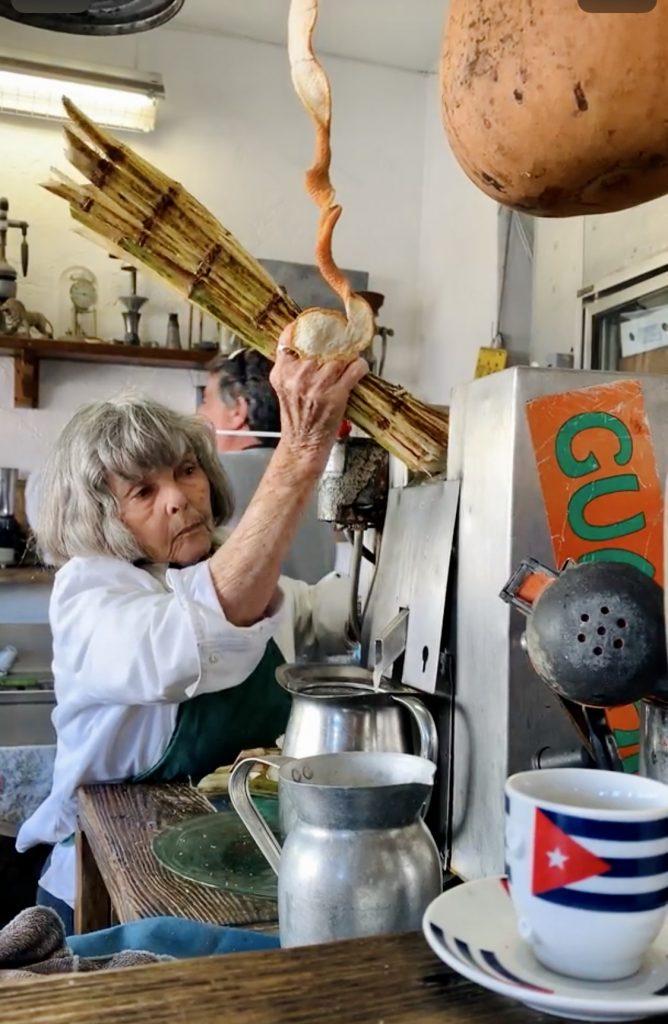 jus de canne - decouvertes culinaires a little havana