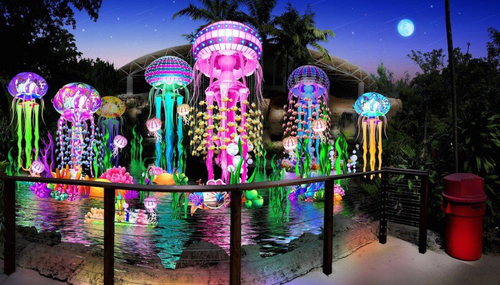 noel luminous chinese lantern festival noel que faire à miami pour noel fêter noel a miami ambiance de noel a miami noel en floride noel a miami blog miami off road