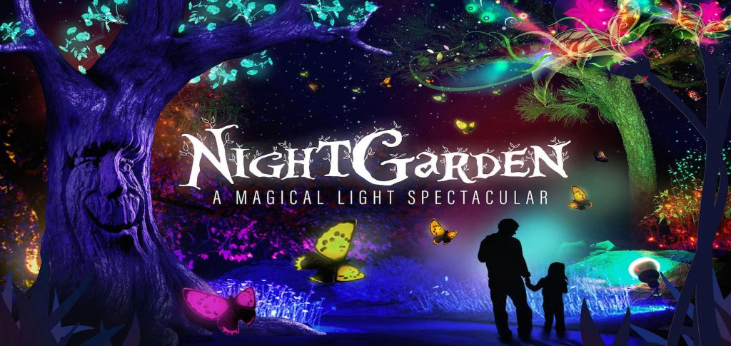 noel night garden magic light spectacular noel que faire à miami pour noel fêter noel a miami ambiance de noel a miami noel en floride noel a miami blog miami off road