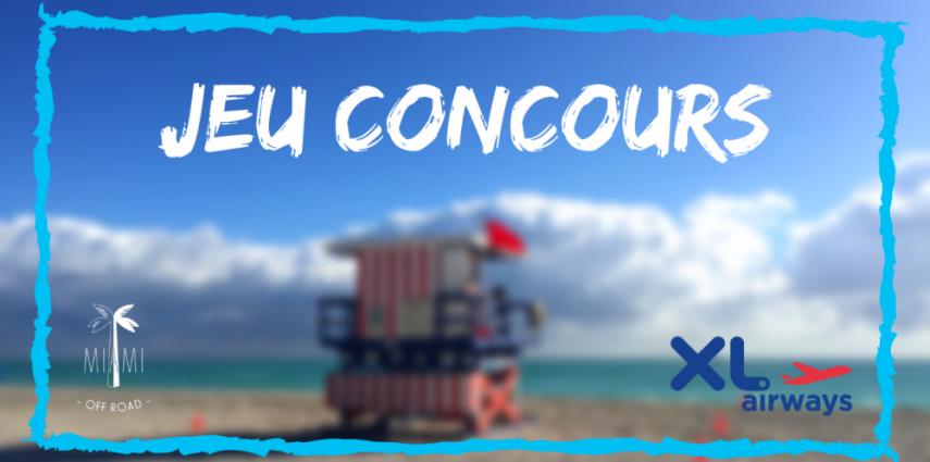 Concours Gagnez Un Voyage Magique A Miami Pour 2 Personnes Miami Off Road