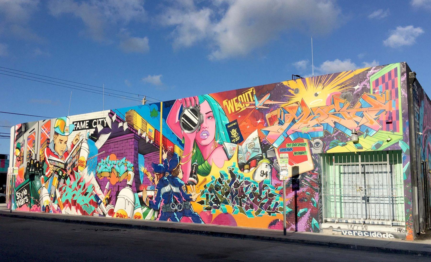 journée à Miami wynwood street art musée du graffiti art cesism visiter miami en 1 journée escale à miami l'essentiel de Miami en 1 jour visiter miami en francais visite guidée de Miami bons plans à Miami miami off road